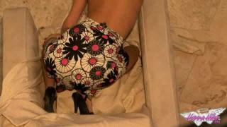 Floral Dress BTS