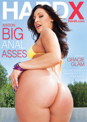 Big Anal Asses 2  Dvd Cover