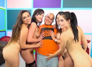 Lucky Virgin Finally Loses His V Card
