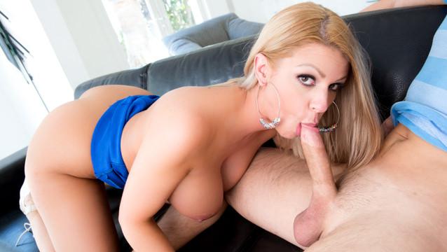 Brooklyn chase blowjob