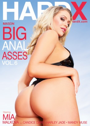 Big Anal Asses Vol. 6 Dvd Cover