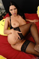Russian Stepmom Squirts on Her Stepson for Stealing! picture 21