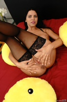 Russian Stepmom Squirts on Her Stepson for Stealing! picture 28