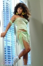 Green Dress Big Hair Tease picture 12