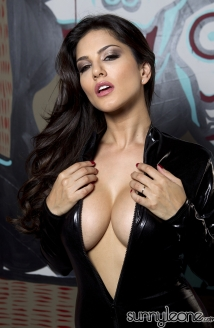 Sunny In Black Leather Picture