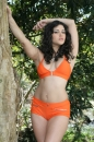 Orange Outfit Outside picture 5