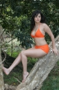 Orange Outfit Outside picture 19