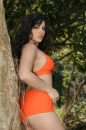 Orange Outfit Outside picture 26
