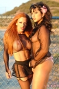 Sunny Gets Some Lesbian Action In The Desert picture 5