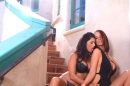 Sunny Leone And Nikki Nova Feel Eachother Up picture 11