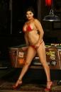 Pool Table Red Bikini picture 5