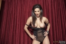 Red Curtain Black Lingerie Strip picture 26
